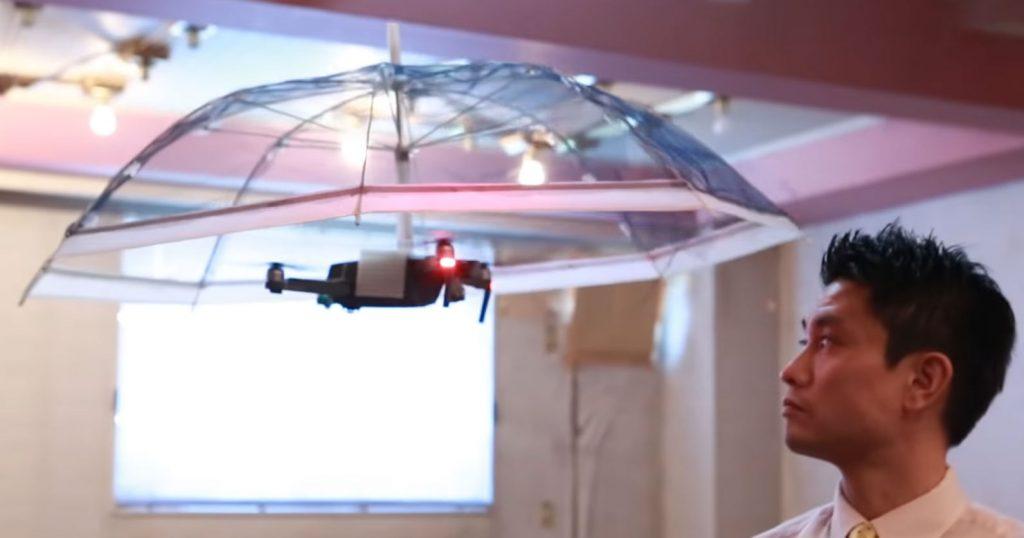 Diese Drohne schützt euch vor freifallendem Dihydrogenmonoxid!