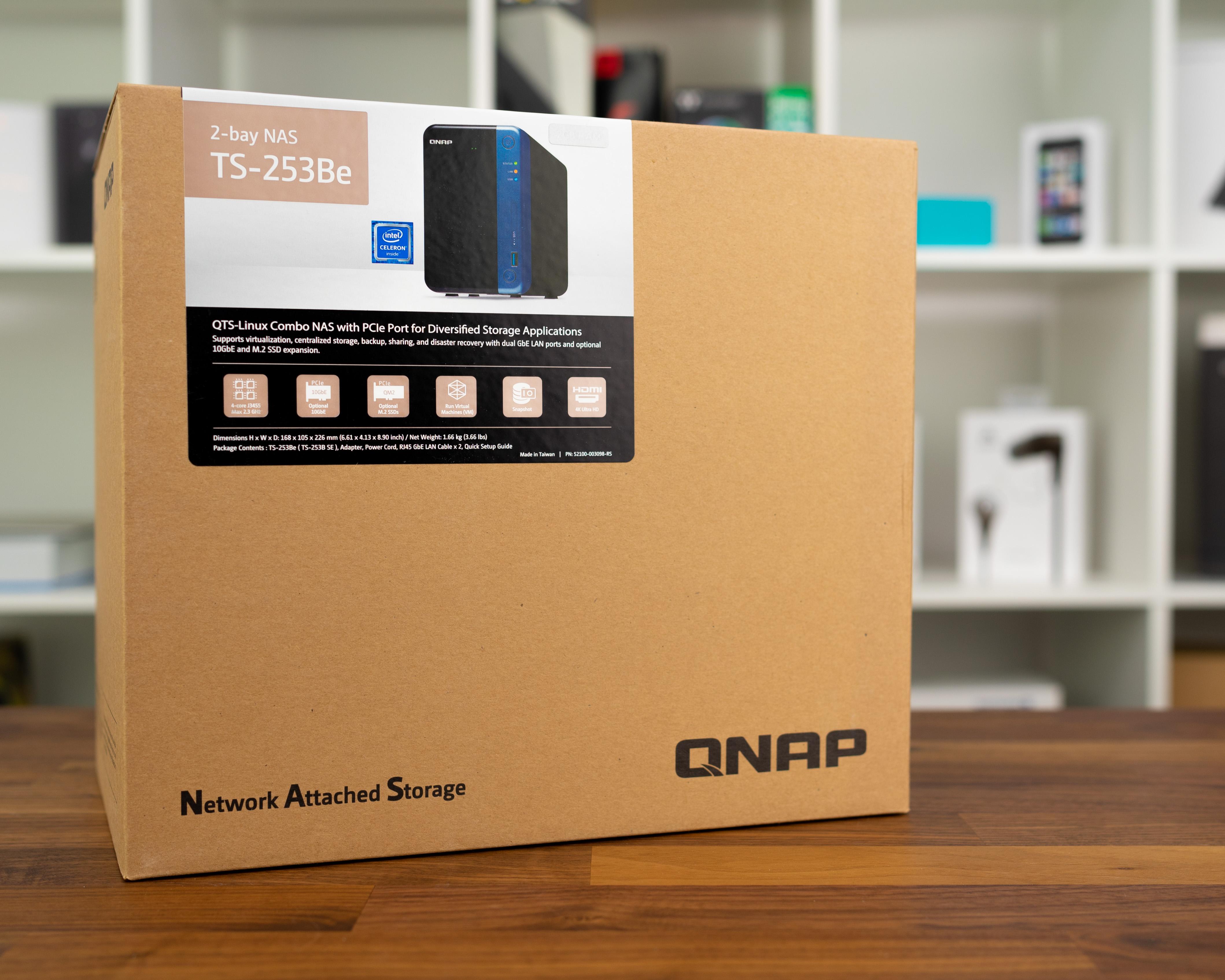 QNAP TS 20Be   Kleiner Alleskönner mit jeder Menge Leistung
