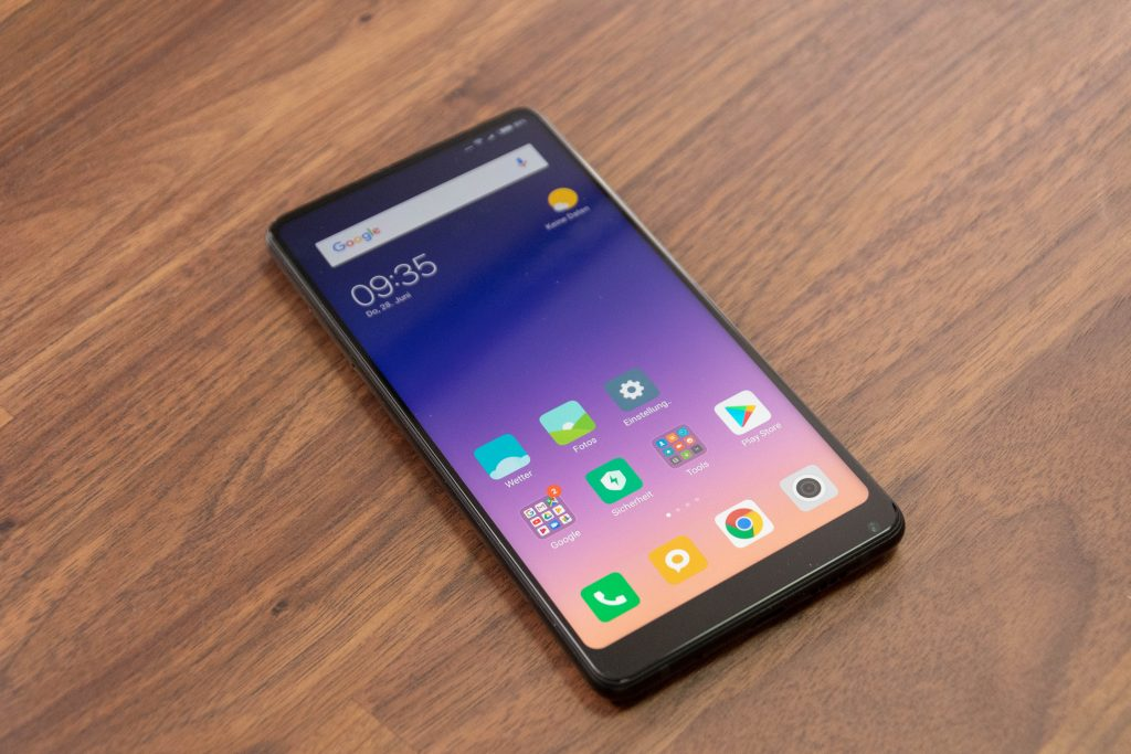 Xiaomi Mi Mix 2s Display