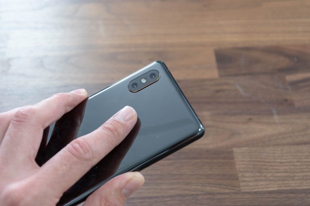 Xiaomi Mi Mix 2s Fingerprintreader