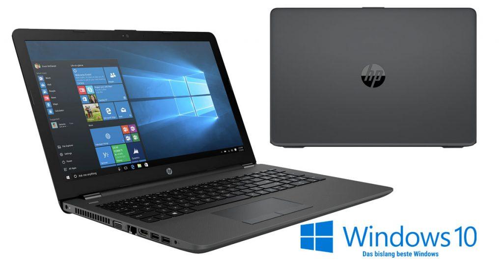 Kurztest: HP 250 G6 – Office-Notebook mit dedizierter AMD-Grafik und langer Akku-Laufzeit