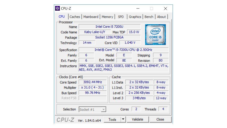 HP 250 G6 2HG71ES Hardware_1