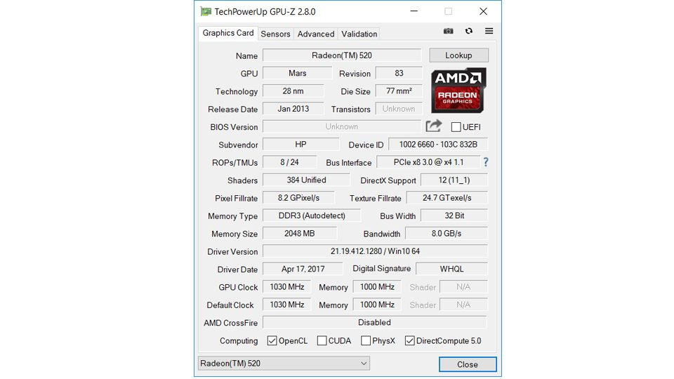 HP 250 G6 2HG71ES Hardware_5