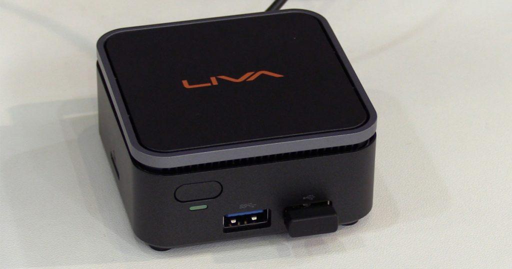ECS Elitegroup Liva Q2: Mini-PC mit vielen Anschlüssen