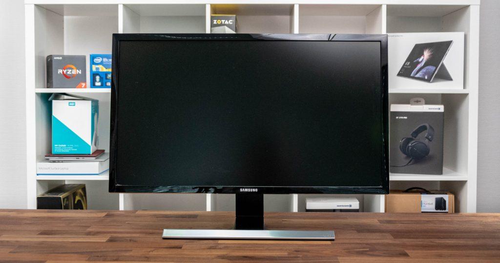 Samsung U28E590D: Vielseitiger 4K-Monitor