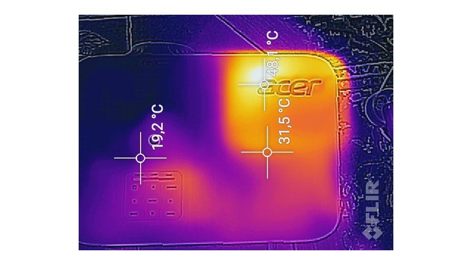 ACER P5530 Beamer Hitze_1