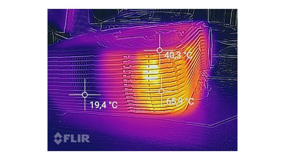 ACER P5530 Beamer Hitze_2