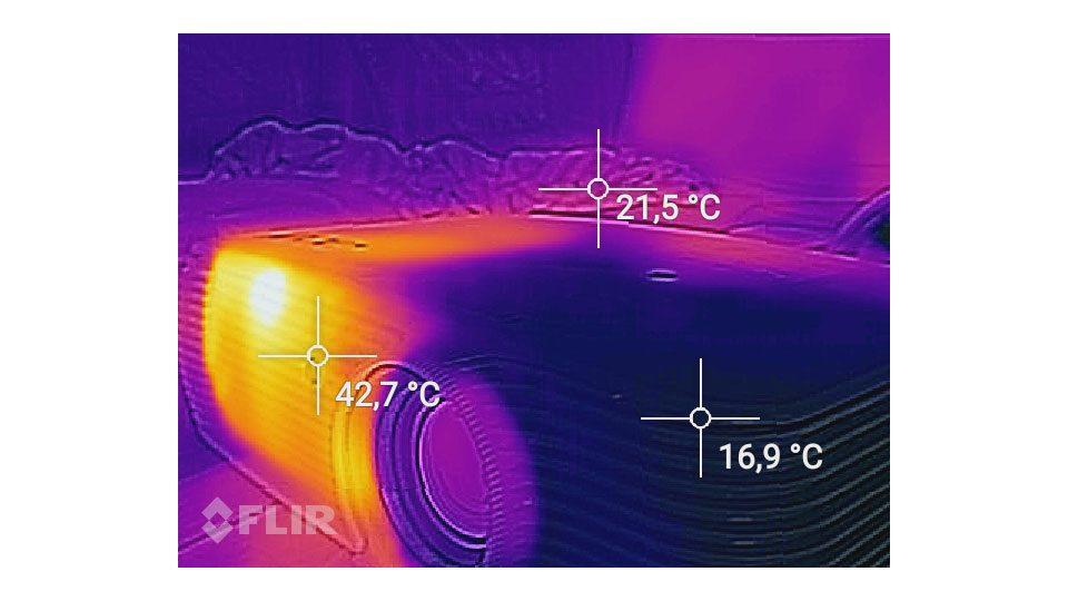 ACER P5530 Beamer Hitze_4
