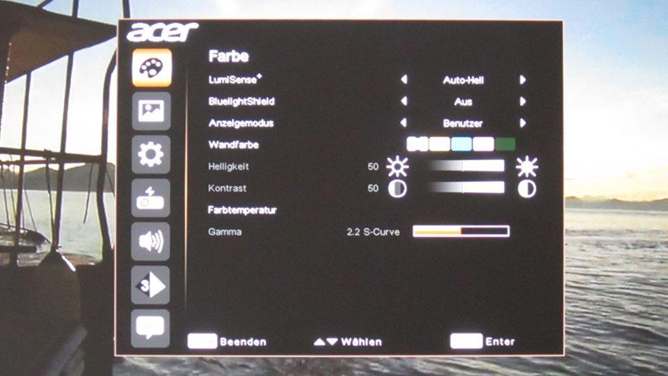 ACER P5530 Beamer Setting_0