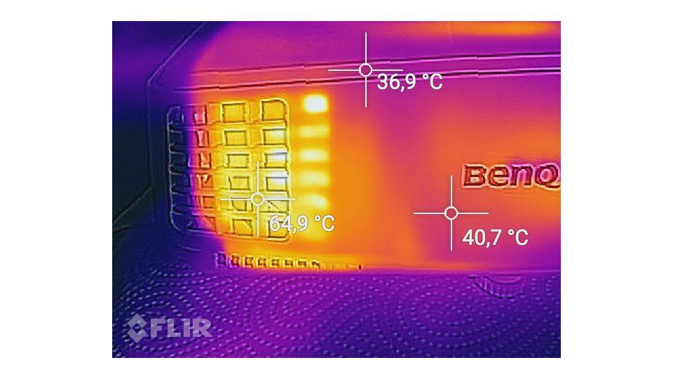 BenQ TH530 Hitze_3