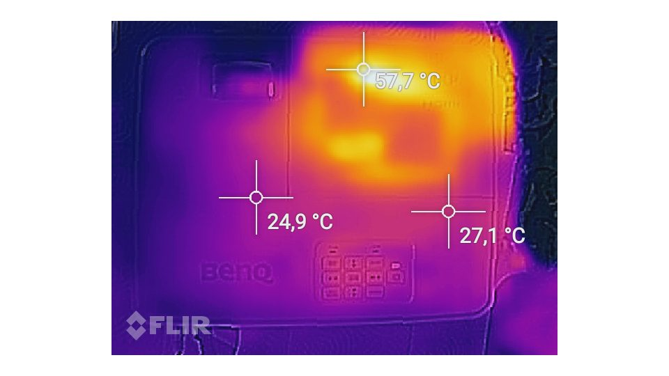 BenQ TH530 Hitze_4