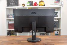 AOC G2590VXQ Gaming-Monitor Rückseite