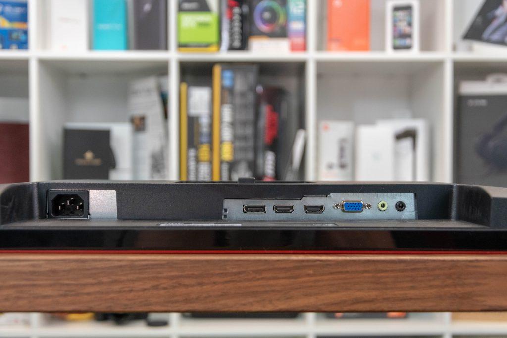 AOC G2590VXQ Gaming-Monitor Anschlüsse