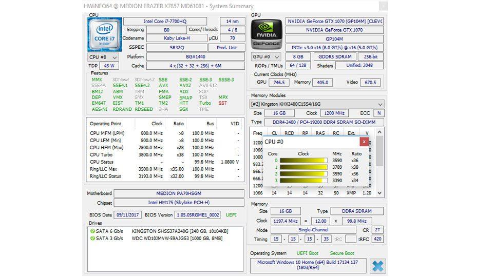 MEDION ERAZER X7857 Hardware_8