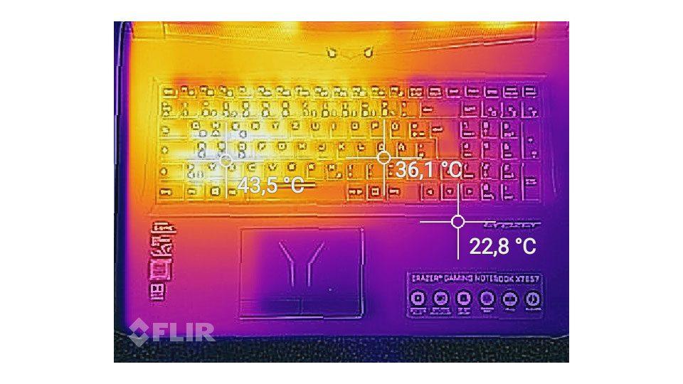 MEDION ERAZER X7857 Hitze_1