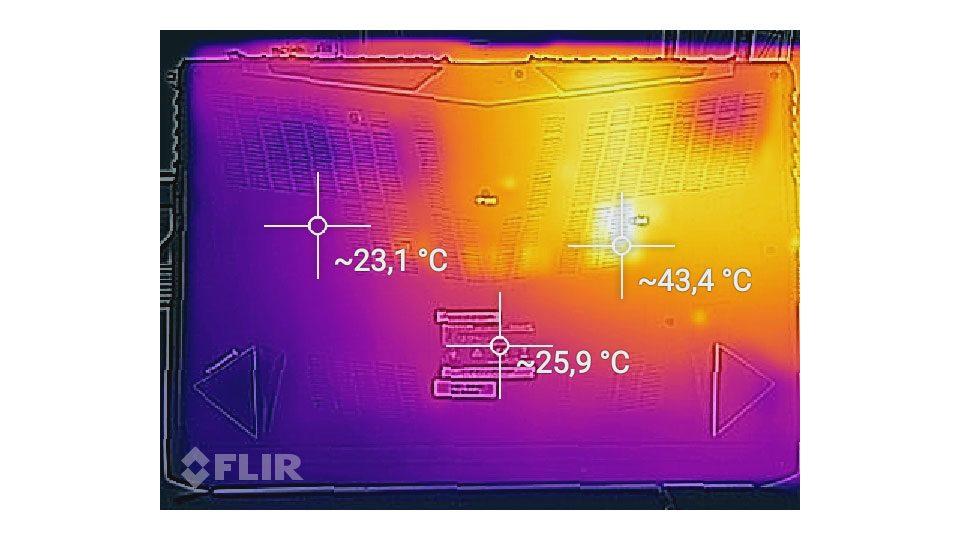 MEDION ERAZER X7857 Hitze_2