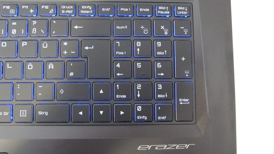 MEDION ERAZER X7857 Tastatur_3