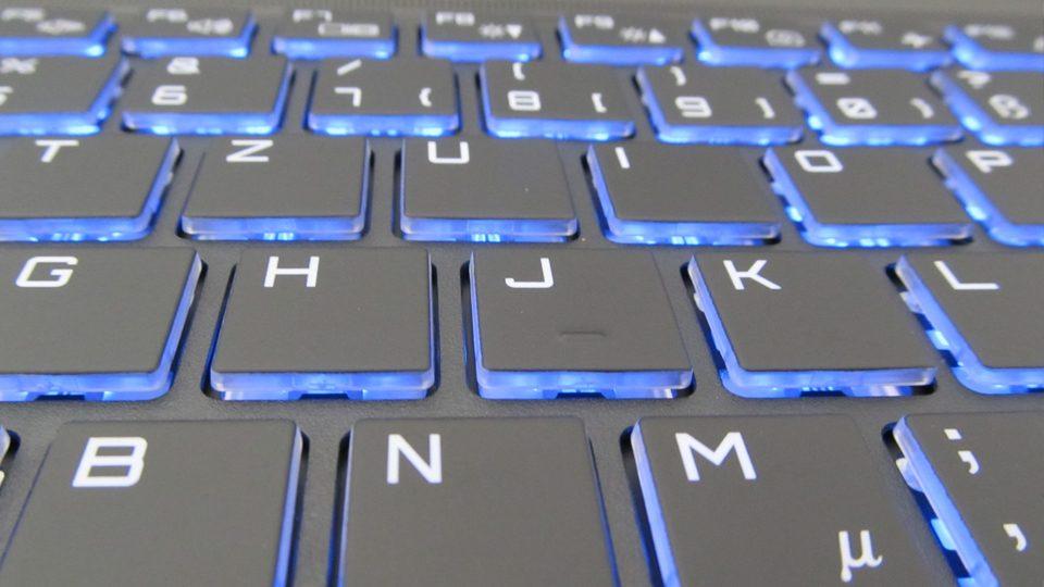 MEDION ERAZER X7857 Tastatur_5