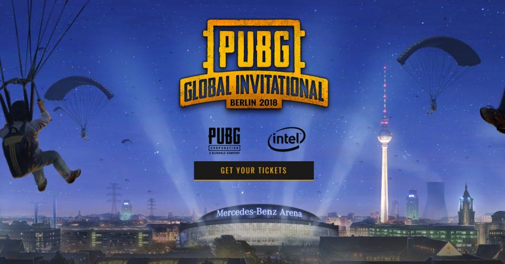 PUBG Global Invitational 2018 in Berlin: 20 Teams kämpfen um 2 Mio. USD Preisgeld