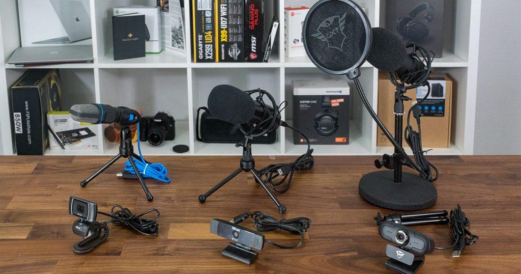 Trust Bundles: Streaming-Webcams und -Mikrofone für Einsteiger und Fortgeschrittene