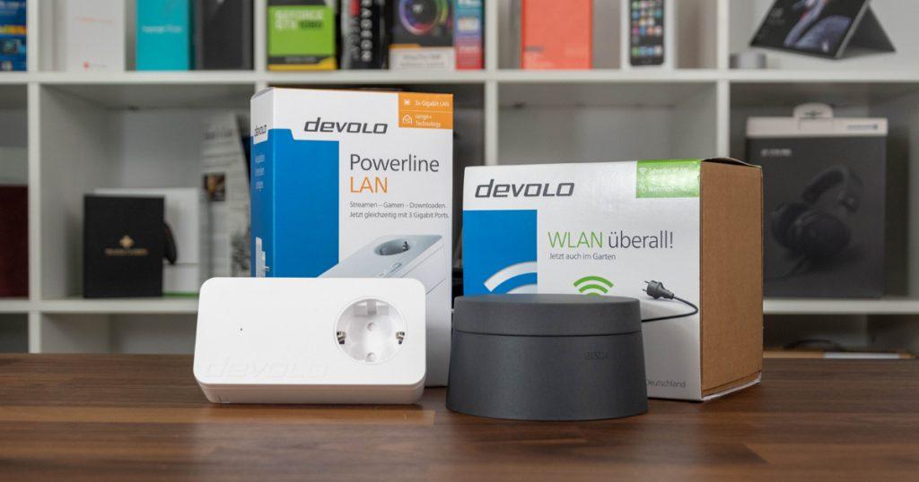 Devolo dLAN WiFi Outdoor Starter Set 1200 triple+: WLAN für den Garten
