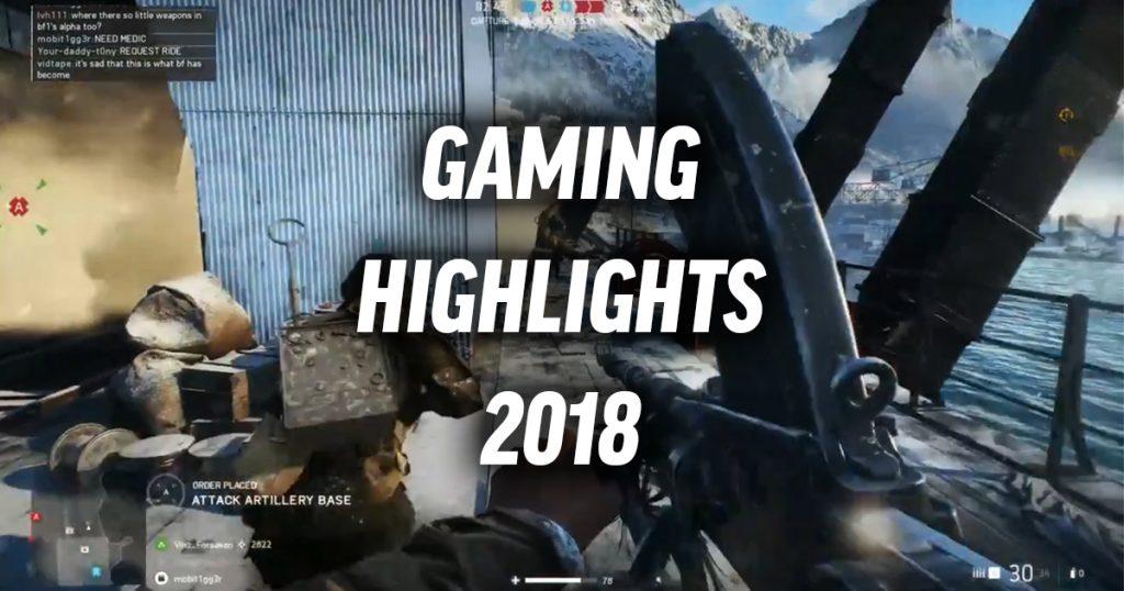 Diese Gaming-Highlights solltet ihr 2018 auf keinen Fall verpassen