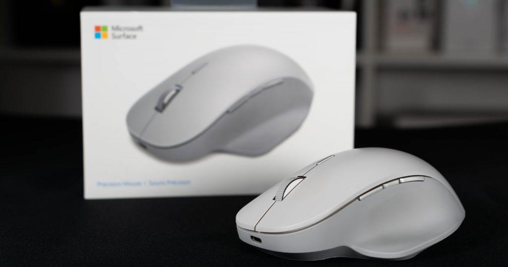 Getestet: Microsoft Surface Precision Mouse – klein, grau, praktisch