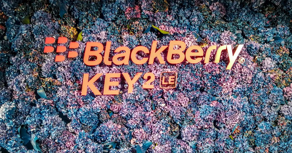 [IFA 2018] Blackberry Key2 LE vorgestellt
