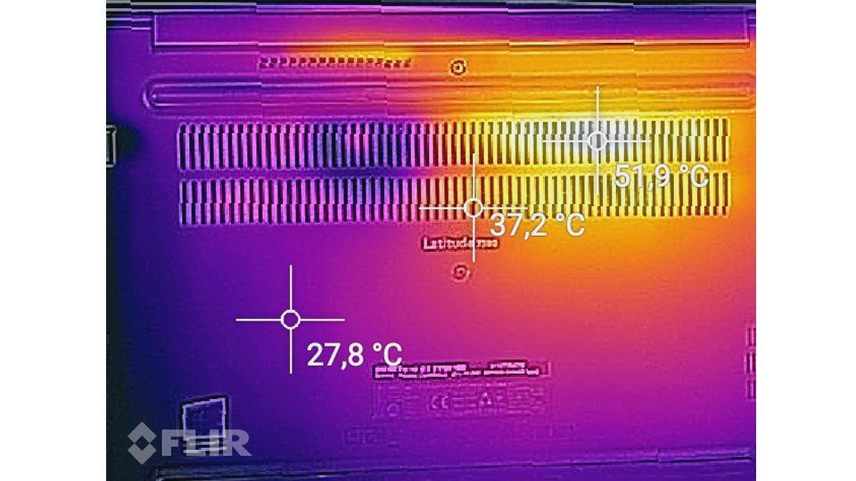 Dell Latitude 7390 Hitze_2