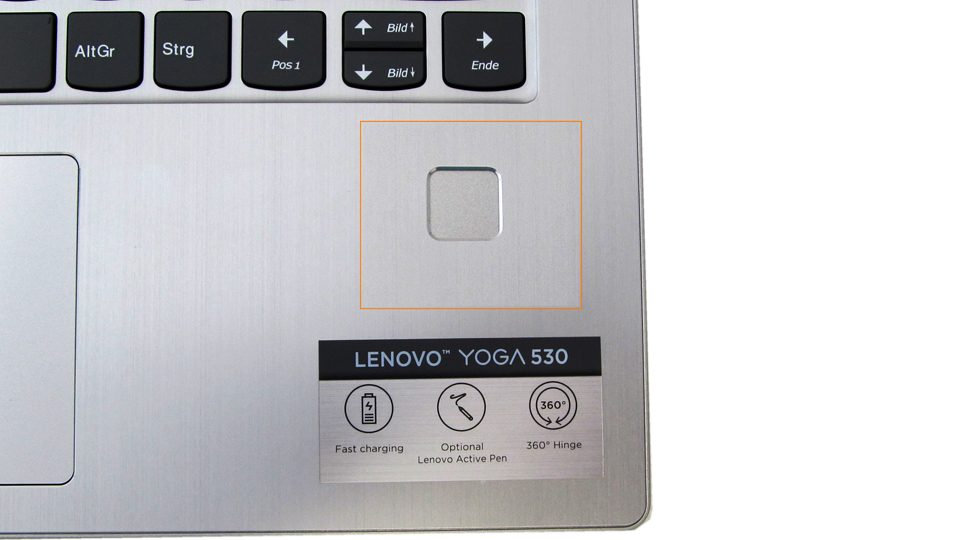 Lenovo Yoga 530-14IKB 81EK00CTGE Tastatur_6
