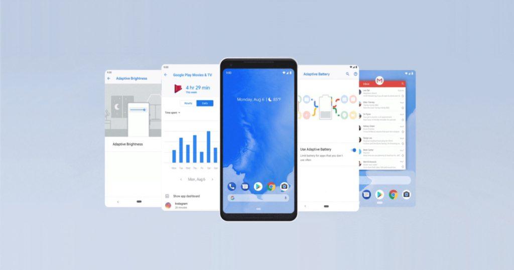 Update auf Android 9 Pie wird an Google Pixel-Smartphones verteilt
