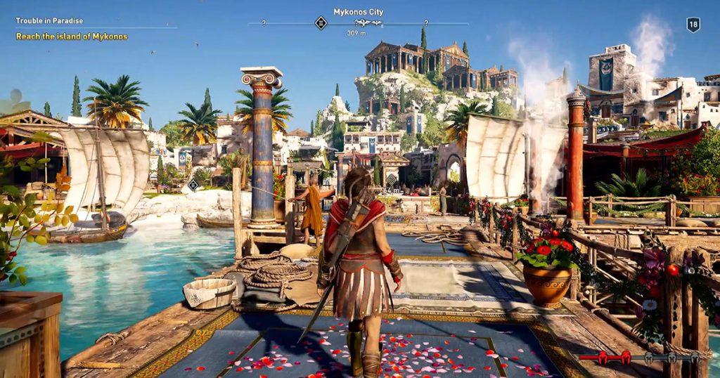 Neues Gameplay-Video von Assassin's Creed Odyssey veröffentlicht