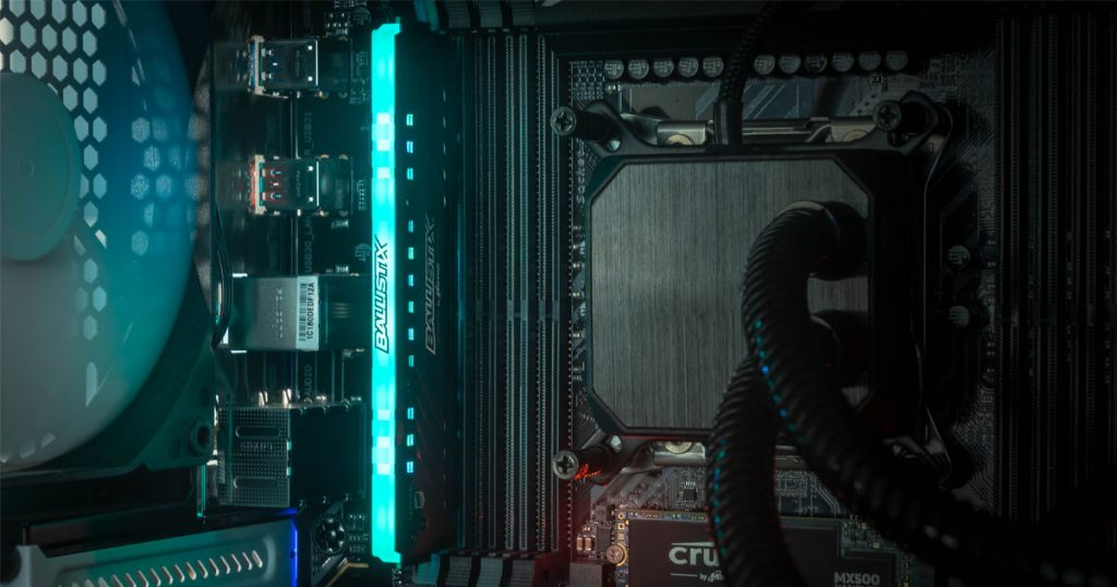 Jetzt wird's bunt: Ballistix Tactical Tracer RGB RAM
