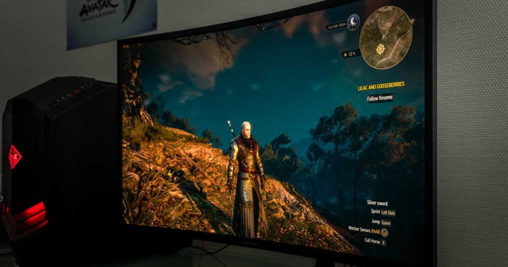 Samsung C32HG70 im Test: (HDR) Gaming in 32″