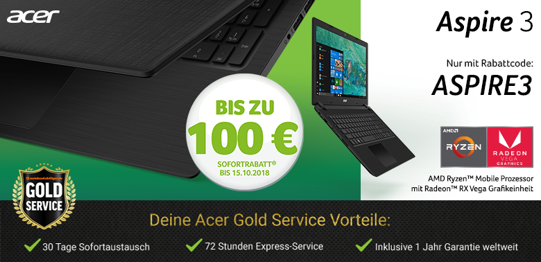 Acer Aspire 3 Aktion