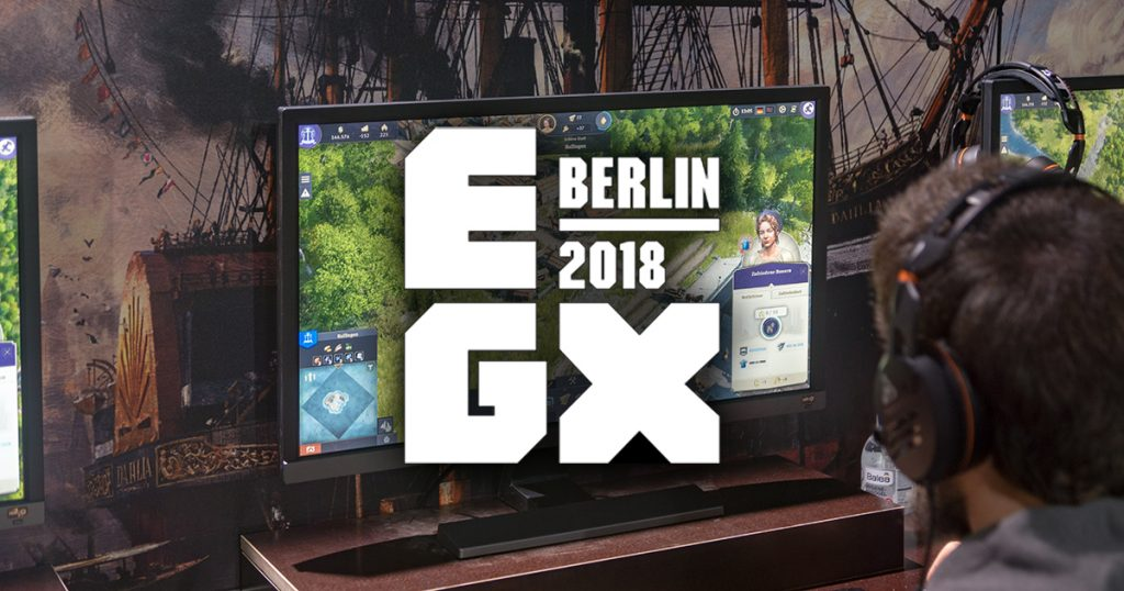 Gaming-Messe: Unterwegs auf der EGX 2018 in Berlin