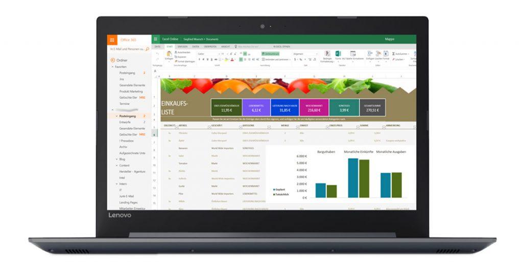 Lenovo V320-17IKBR – Großes Office-Notebook mit sehr hellem Full HD-Display im Test