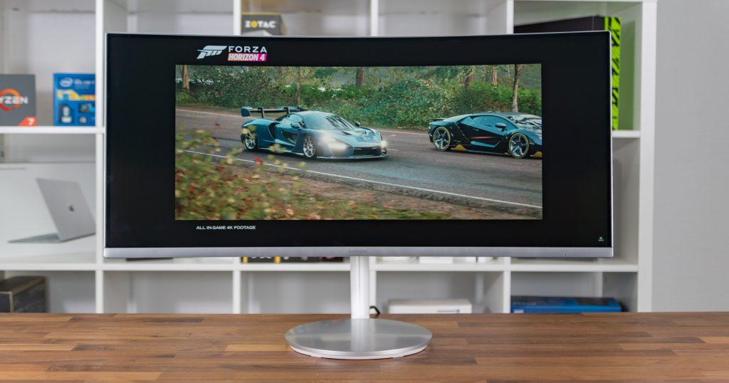Samsung C34J791: schicker Curved-Monitor mit Thunderbolt 3 im 21:9-Format