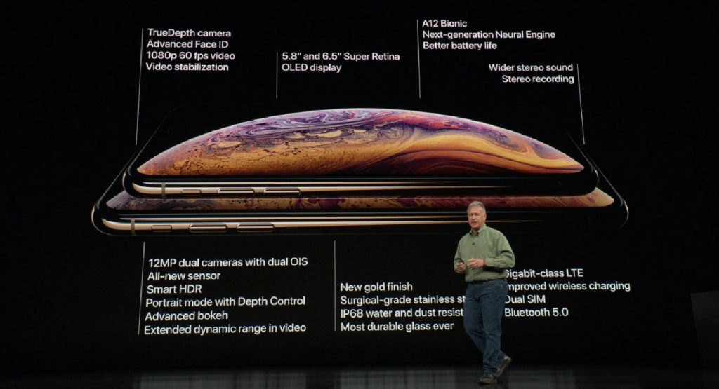 apple iphone xs key facts