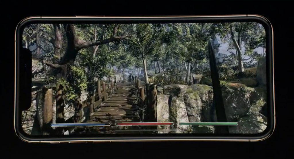 iphone xs elder scrolls blade
