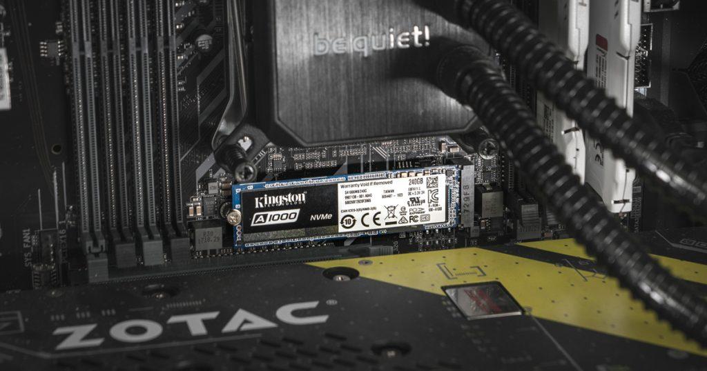 Kingston A1000 M.2 NVMe SSD im Kurztest: Günstig und schnell genug [Gewinnspiel]