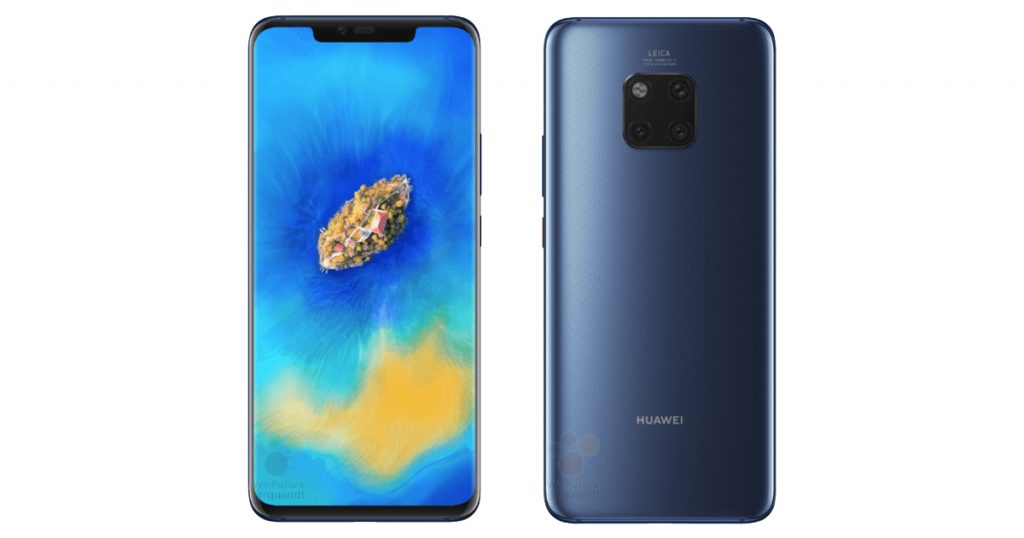 Leak verrät eine Menge Details über das Huawei Mate 20 Pro