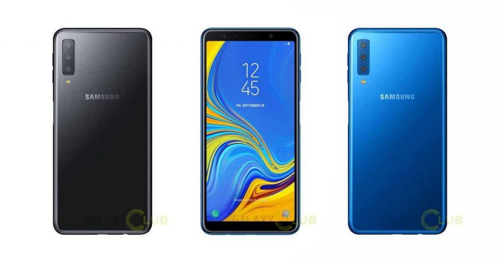 Samsung Galaxy A7 (2018): Pressebilder zeigen Triple-Kamera