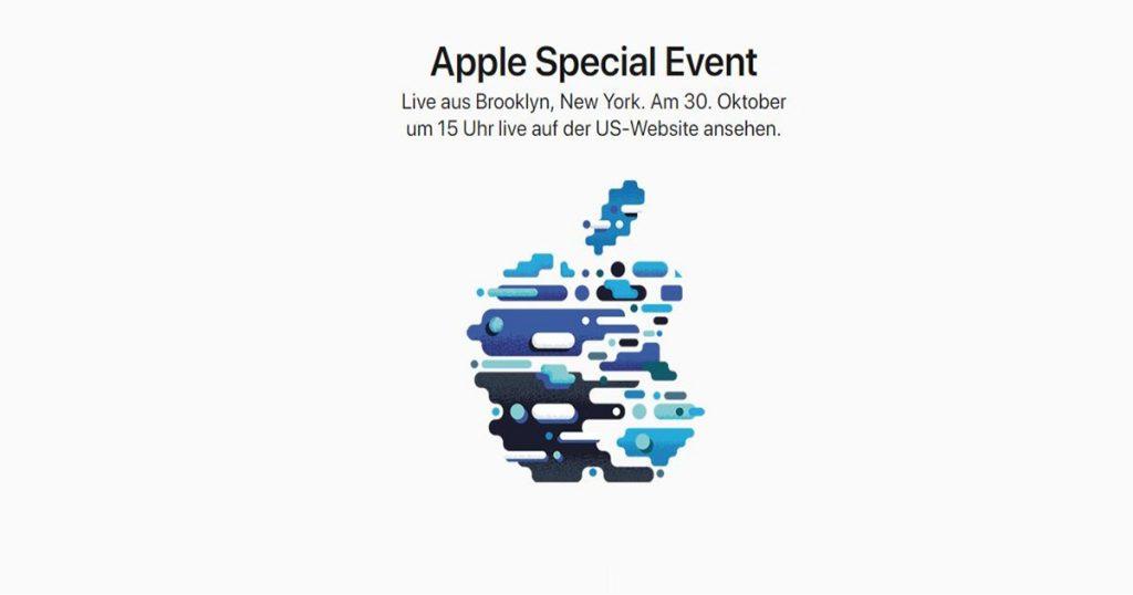 Apple-Event im Oktober: was wir erwarten