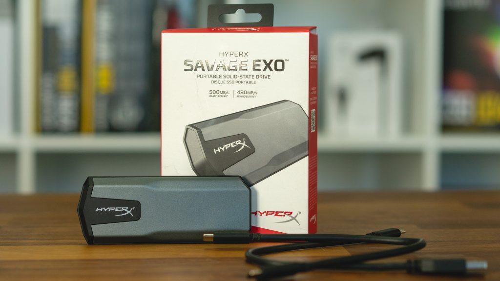 Ausgepackt: HyperX Savage EXO – Externe SSD