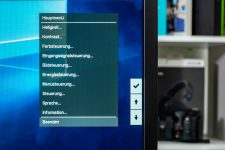 HP Pavilion Gaming 32 HDR Menue