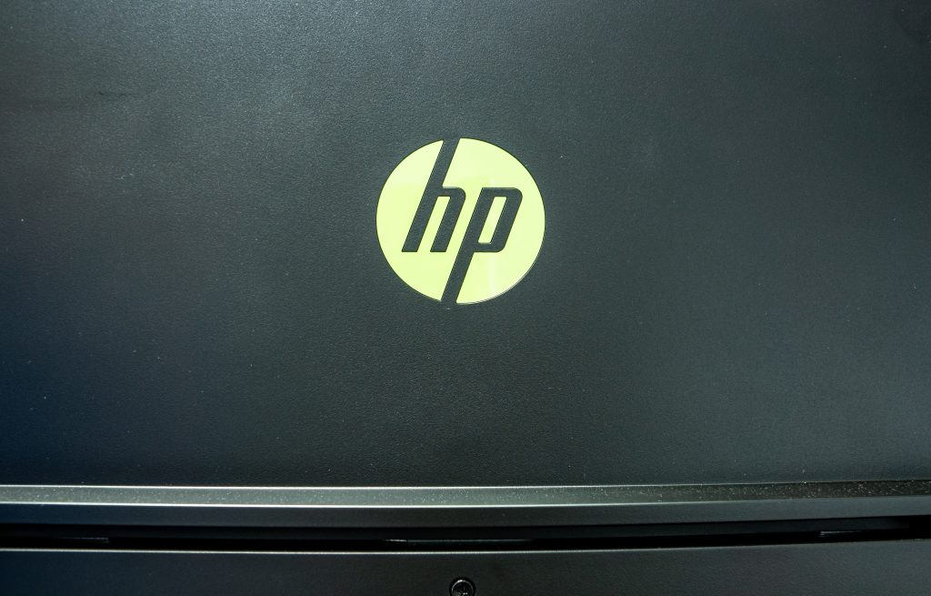 HP Pavilion Gaming 32 HDR HP Logo