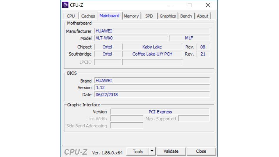 HUAWEI MateBook D W60B Hardware_3