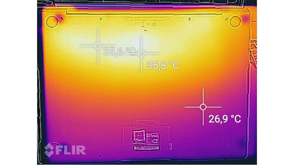 Huawei Matebook X Pro Hitze_2