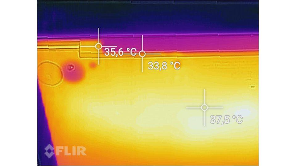 Huawei Matebook X Pro Hitze_3